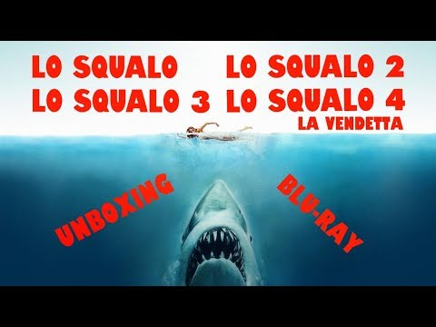 La Saga De Lo Squalo Jaws Franchise Blu Ray Unboxing Youtube