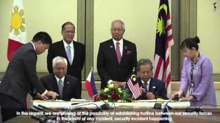 Najib Razak : Lawatan Rasmi TYT Benigno S.Aquino III Presiden Filipina
