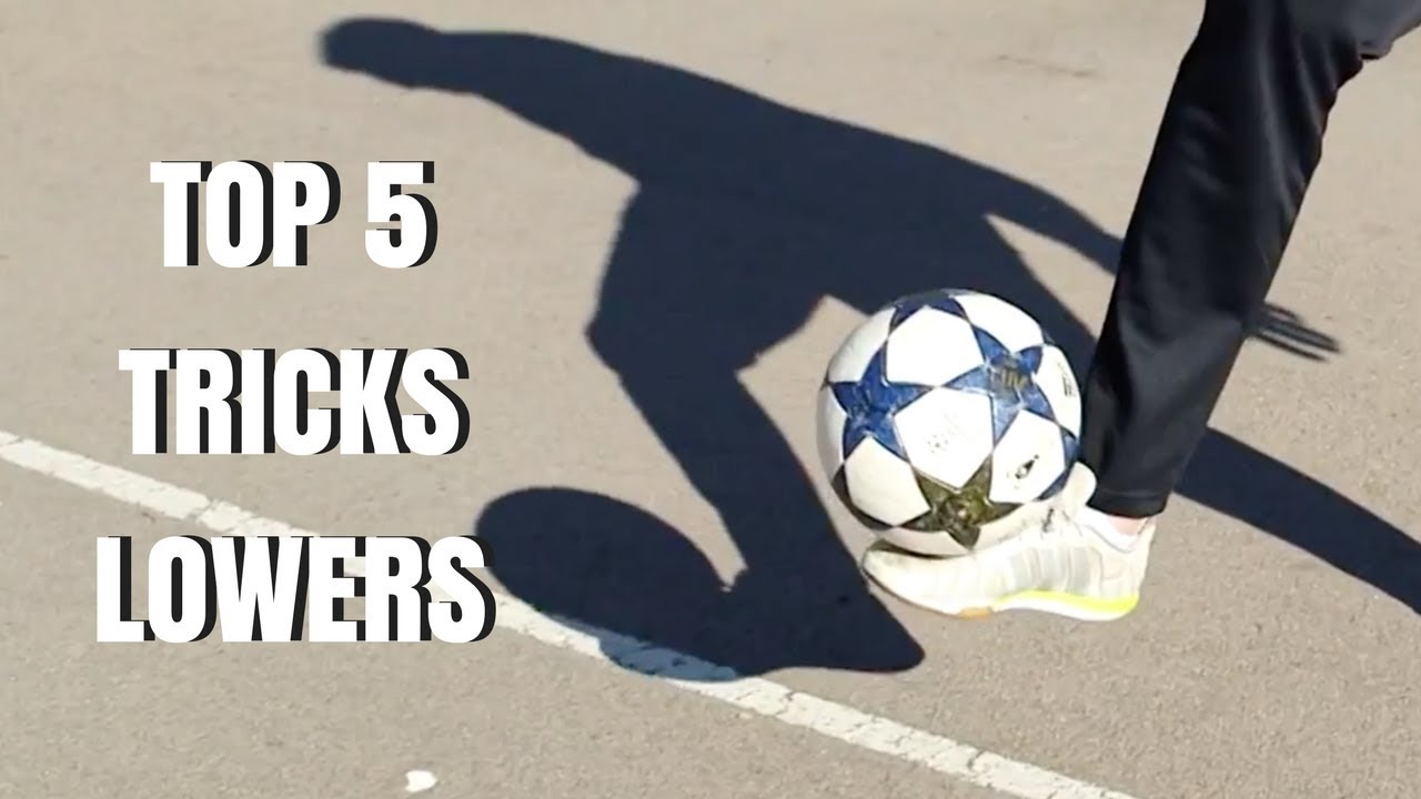 7a83344f TOP 5 FOOTBALL TRICKS - LOWERS AZUN Freestyle Football - YouTube