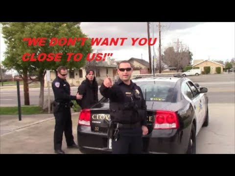 Cop Block Clovis, Activist Arrested While Filming Police Harassment