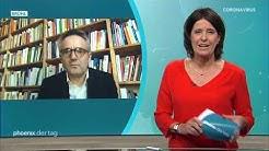 Prof. Frank Decker zum Föderalismus während der Corona-Krise am 21.04.20