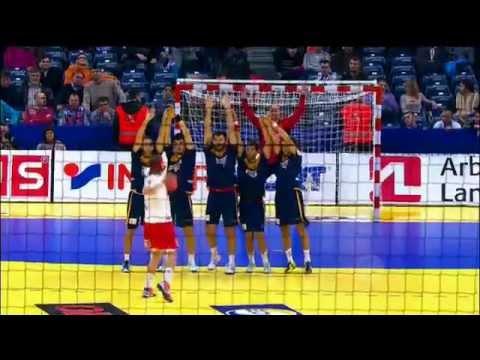 EM Håndbold - Danmark-Spanien - Mikkel Hansen gør det igen