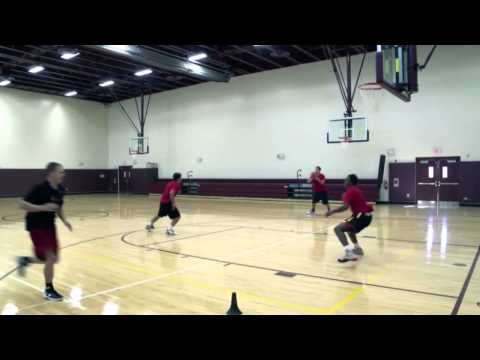 Backdoor Minus Two Passing Series - Basketball Team Development