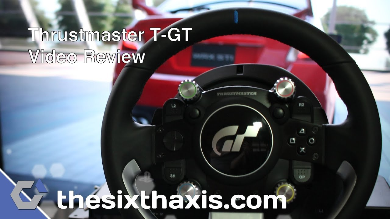 Thrustmaster T-GT Racing Wheel Review – TheSixthAxis