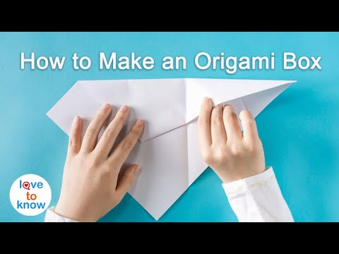 How to Make an Origami Box with Printer Paper: 12 Steps | 360x480