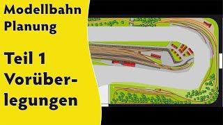 Modellbahn: Planung Teil 1 - Vorüberlegungen mit Gleisplänen in H0 und Spur 0