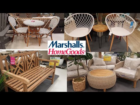 SHOP WITH ME HOME GOODS OUTDOOR FURNITURE AND PATIO FURNITURE SALE  2019