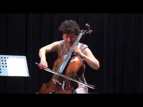 Hai Zheng, Cello -Tango by Isaac Albeniz