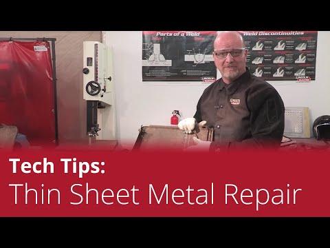 Project Spotlight: Thin-Gauge Sheet Metal Repair