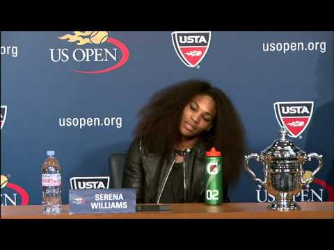 2012 US Open Press Conferences: Serena Williams (Final)