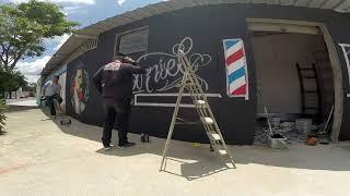 Baixar Barber Shop Graffiti Style