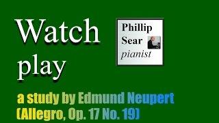 Edmund Neupert: 24 Concert Studies, Op. 17: 19 - Allegro (A major)