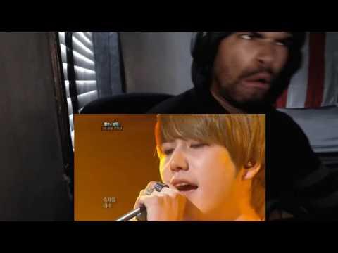 [HIT]불후의명곡2(Immortal Songs 2)-규현(Super Juinor) 가장무도회(7대전설 김완선편 최종우승)20110827 KBS REACTION!!!