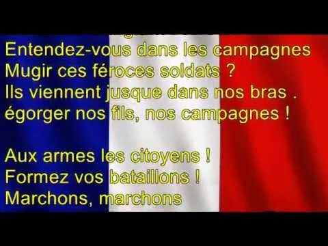 La marseillaise - Michel Sardou