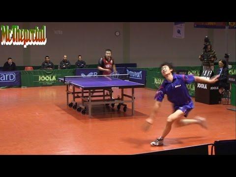 Table Tennis - Li Kewei Vs Guo Jinhao - (Private Recording)