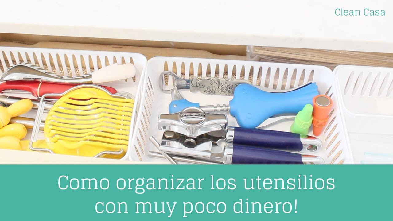 Como organizar los cajones de la cocina con muy poco for Organizar cajones cocina