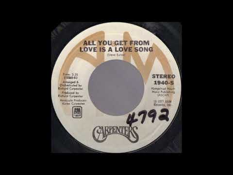 1977_192 - Carpenters - All You Get From Love Is A Love Song - (45)