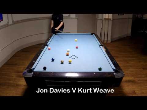 Jon Davies V Kurt Weaver. Allstars Bristol Singles League. November 2016
