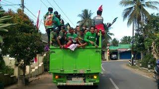 Ribuan Bonek Estafet Ke Bandung Persebaya vs Perseru Serui
