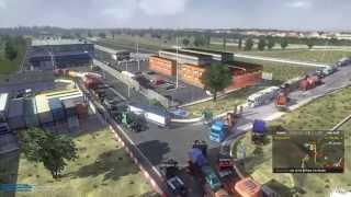 Euro Truck Simulator 2 Multiplayer - Calais Chaos Pt 1