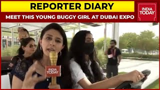 Dubai Expo 2021: Meet This Young Buggy Girl, Who Works Non-Stop At India Pavilion | Reporter Diary