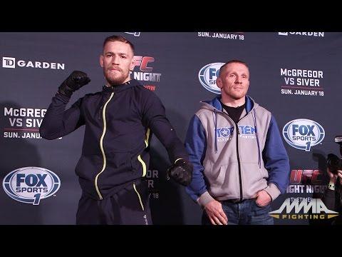 UFC Fight Night 59: Conor McGregor vs. Dennis Siver Staredown