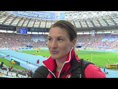Moscow 2013 - Linda STAHL GER - Javelin Throw Women - Final - 4th