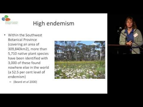 DIG 2012. Sue Eber. The Southwest Australia Ecoregion Initiative