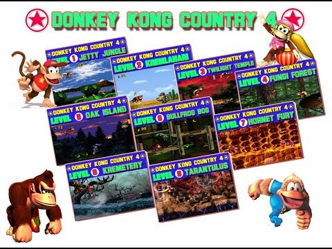 Donkey kong country 4 the kongs returns 2016 demo v3 all parts new music 2018 download