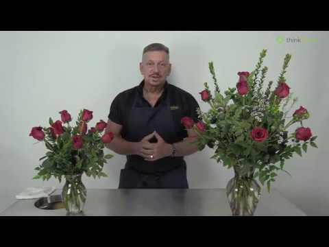 Premium Dozen Roses Versus a General Dozen