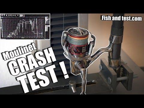 CRASH-TEST de MOULINET chez FISH and TEST !
