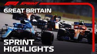 F1 Sprint Highlights | 2021 British Grand Prix
