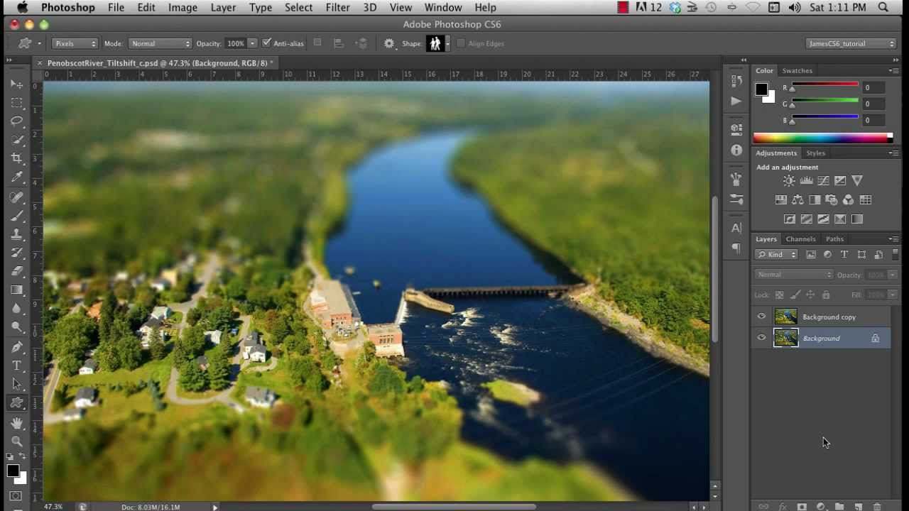 how to add an image on photoshop cs6