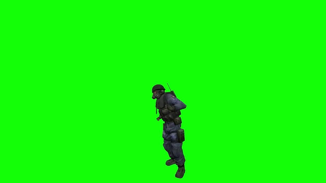 Gmod Dance Green Screen Riton & Kah-Lo - Fake I D  Song