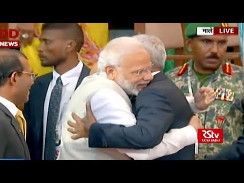 PM Modi attends swearing-in ceremony of Maldives Prez Ibrahim Mohamed Solih Mp3