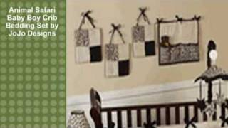 Animal Safari Baby Boy Crib Bedding Set By Jojo Designs