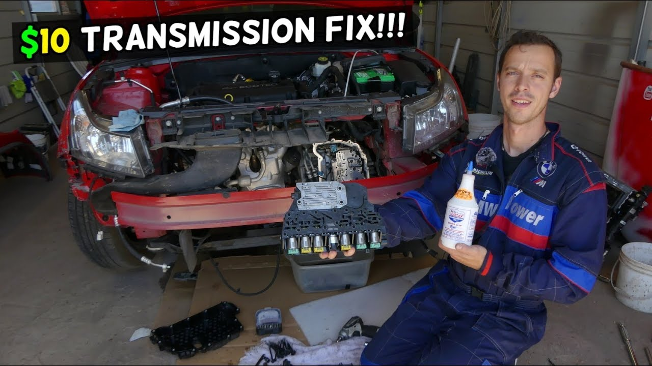 How To Fix A Transmission >> How To Fix Automatic Transmission That Shifts Hard Or Slipping