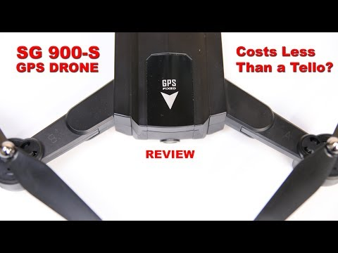 SG 900-S GPS Drone for less than the price of a Tello? - YouTube
