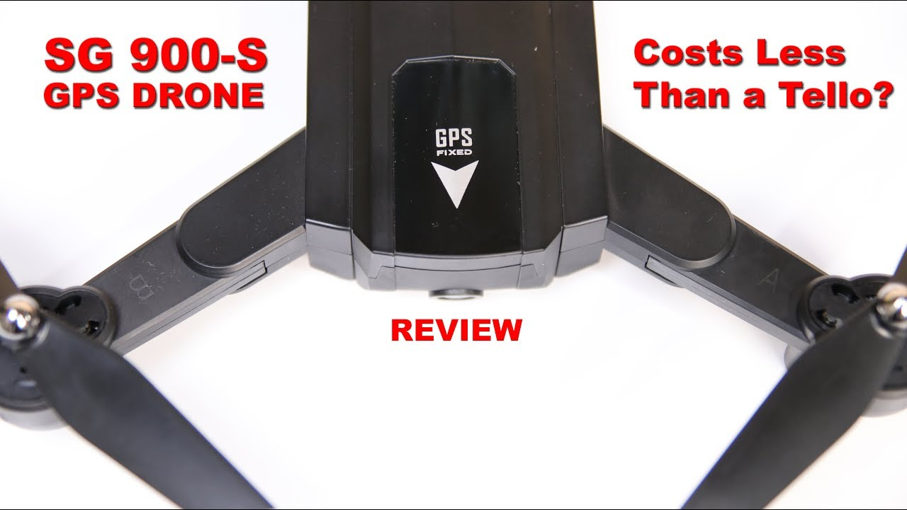 SG 900-S GPS Drone for less than the price of a Tello?