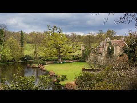 Romantic Springtime in England at Scotney Castle