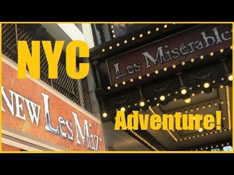 LES MIZ ON BROADWAY | NYC ADVENTURE