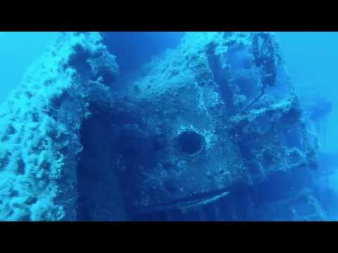 OzDive in Greece - Diving at the Anna II Wreck / Mykonos (2018)