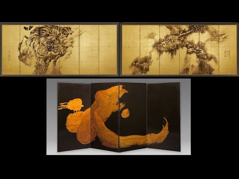 Dragons and Tigers, Japanese Folding Screens (83)