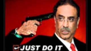 Zardari new song, serious, funny, all in one,                                                  shoe
