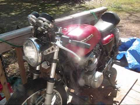 how to start an old motorcycle