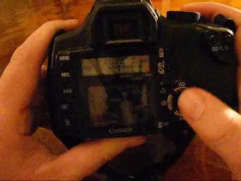 Canon Eos 350d / Digital Rebel XT Quick Look