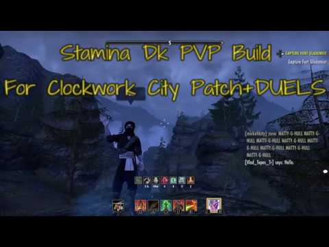 Eso Stamina Dk PvP Build For Clockwork City Patch+DUELS
