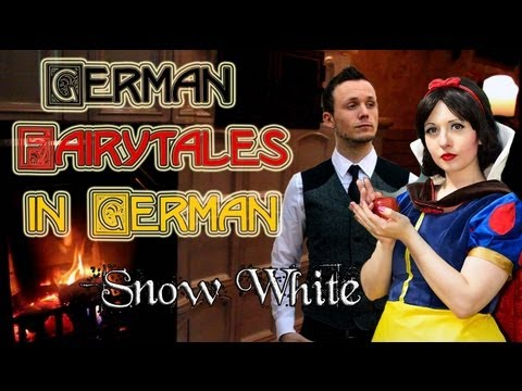 Snow White / Schneewittchen | German Fairytales in German