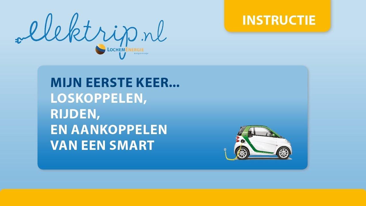 Opladen Starten En Rijden Met Een Elektrische Auto Van Elektrip