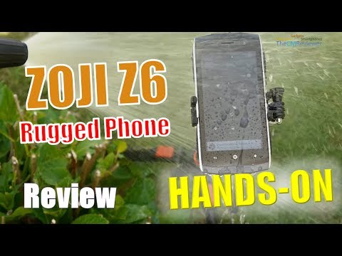 ZOJI Z6 Rugged Smartphone | Review | Waterproof Test - Hands